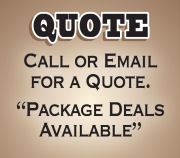 Get a quote - we can combine items to make a package deal